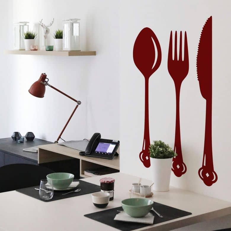 Cutlery Wall sticker