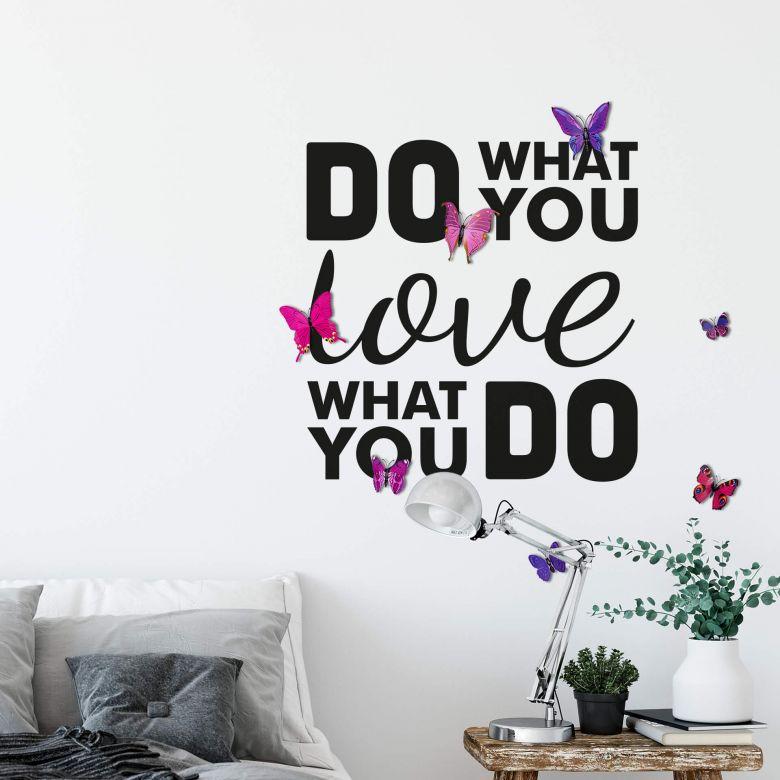 Muursticker Do what you Love
