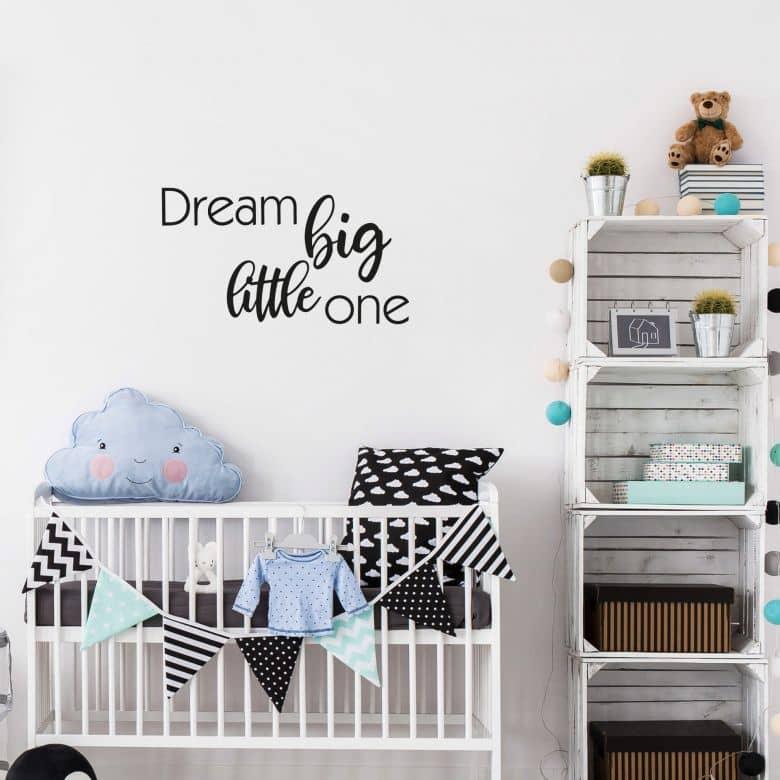 Wall sticker Dream Big little one