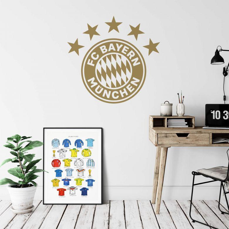 Wall sticker Bayern Munich Logo - one color