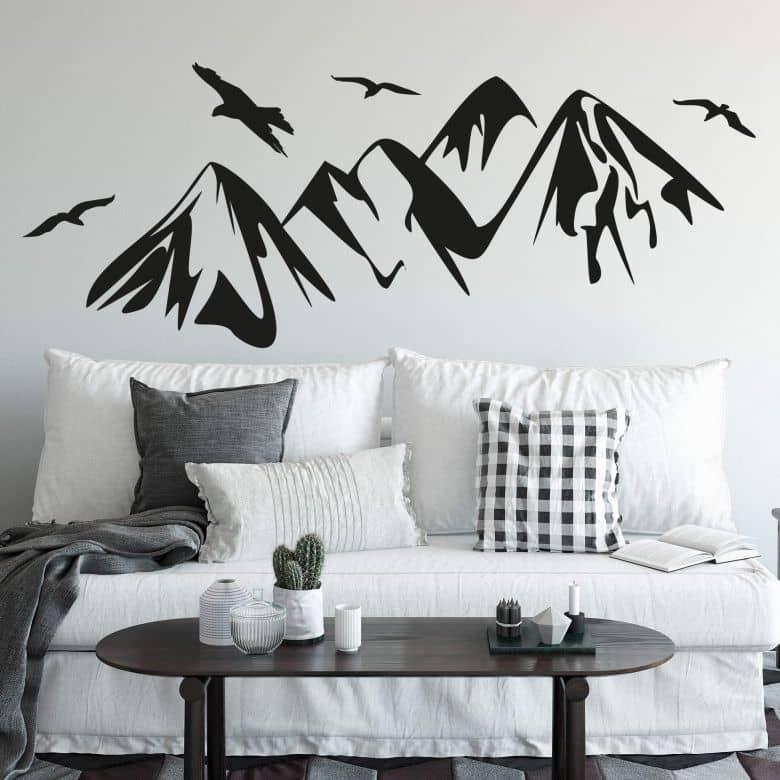 Wandtattoo Gebirge Wall Art De