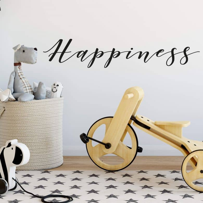 Wall sticker Happiness
