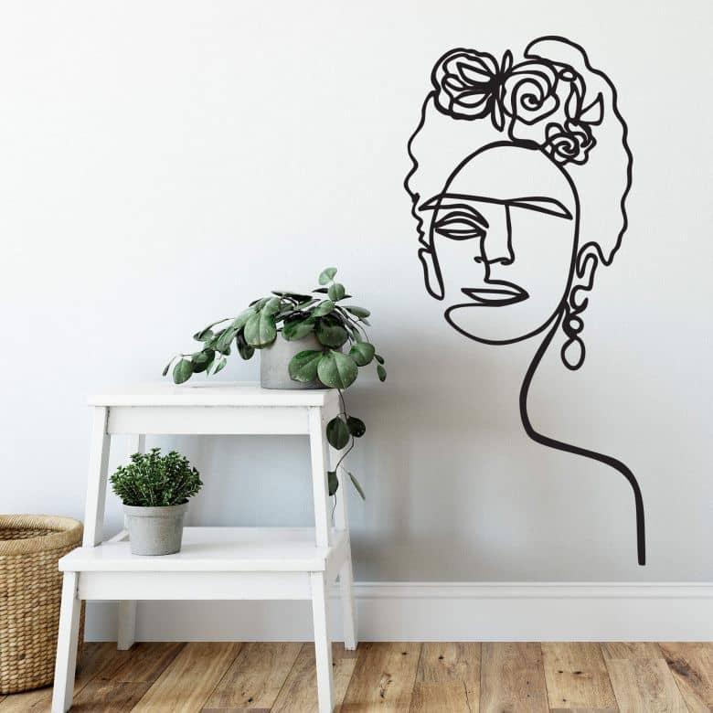 Wall sticker Hariri - Frida Kahlo
