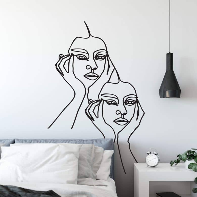 Wall sticker Hariri - I'm pretty tired