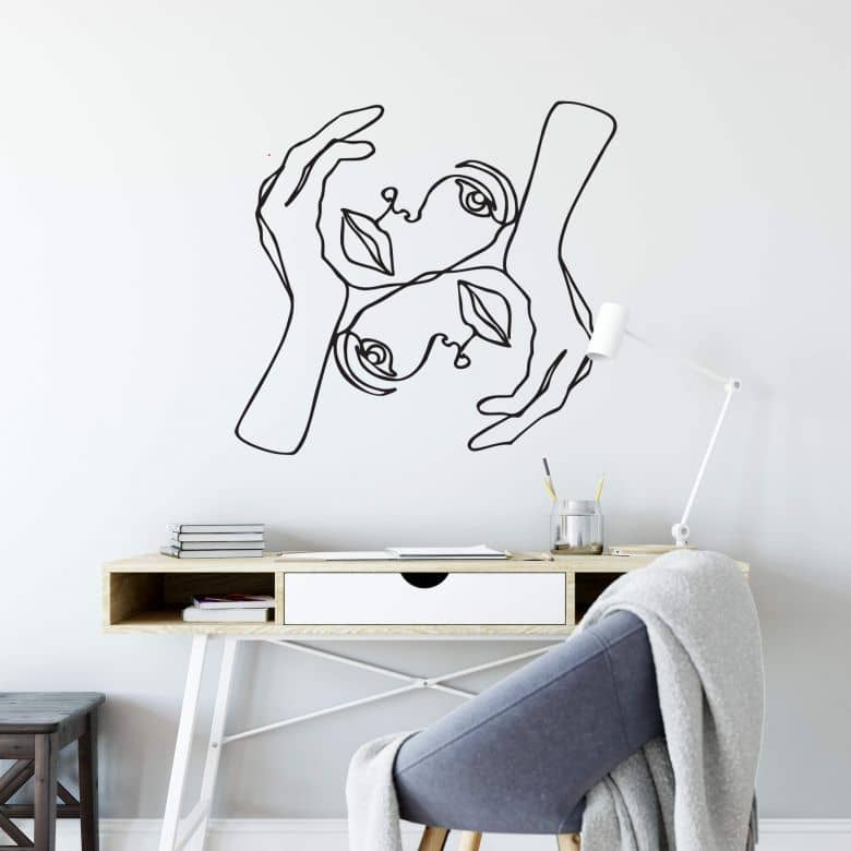 Wall sticker Hariri - Julie
