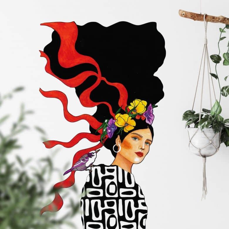 Sticker mural Hülya - Ensemble