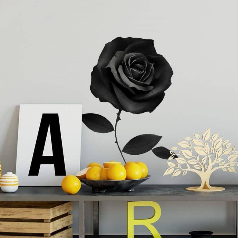 Sticker mural Ireland - Fabric Rose