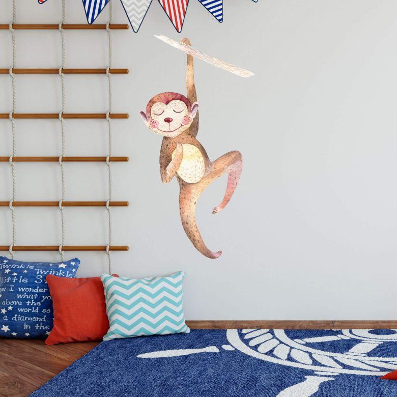 Wall sticker Kvilis - Cute Monkey