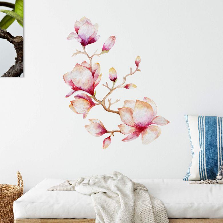 Wall sticker Kvilis - Magnolia 01