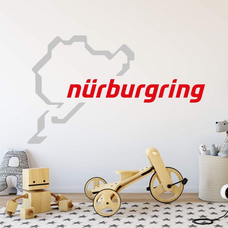 Wall sticker Nürburgring Logo