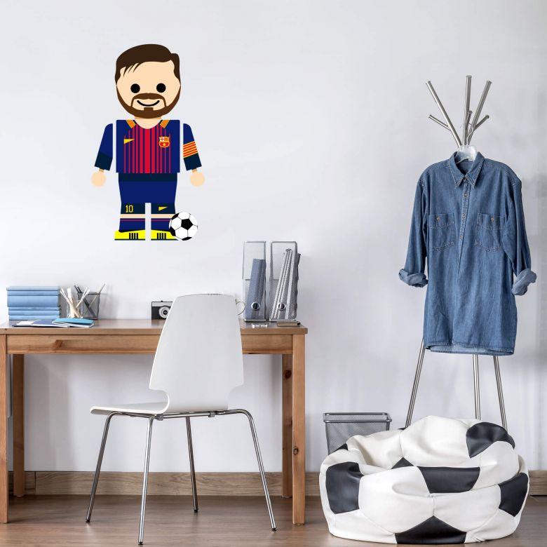 Wandtattoo Gomes - Messi Spielzeug