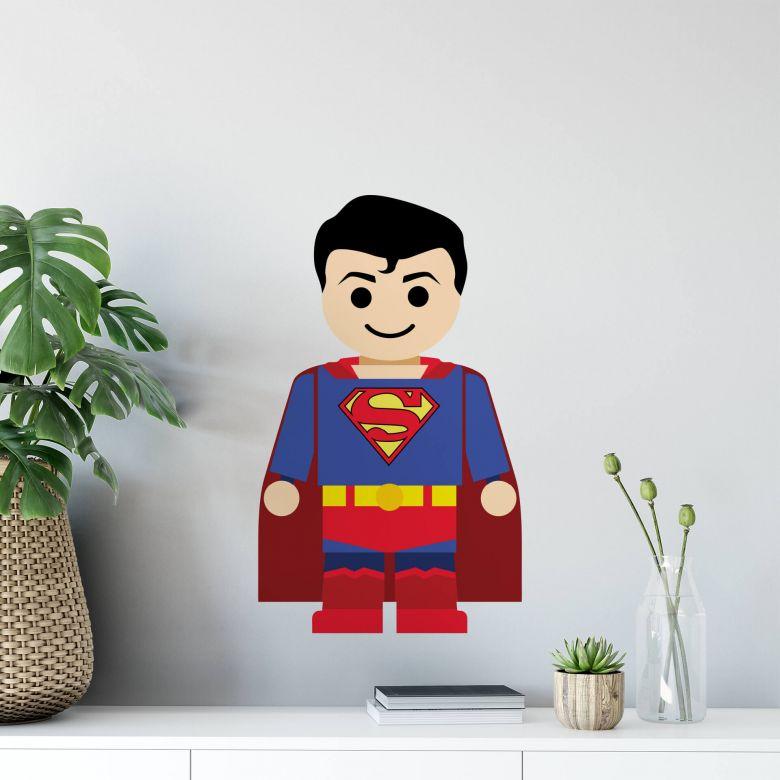 Wandtattoo Gomes - Superman Spielzeug