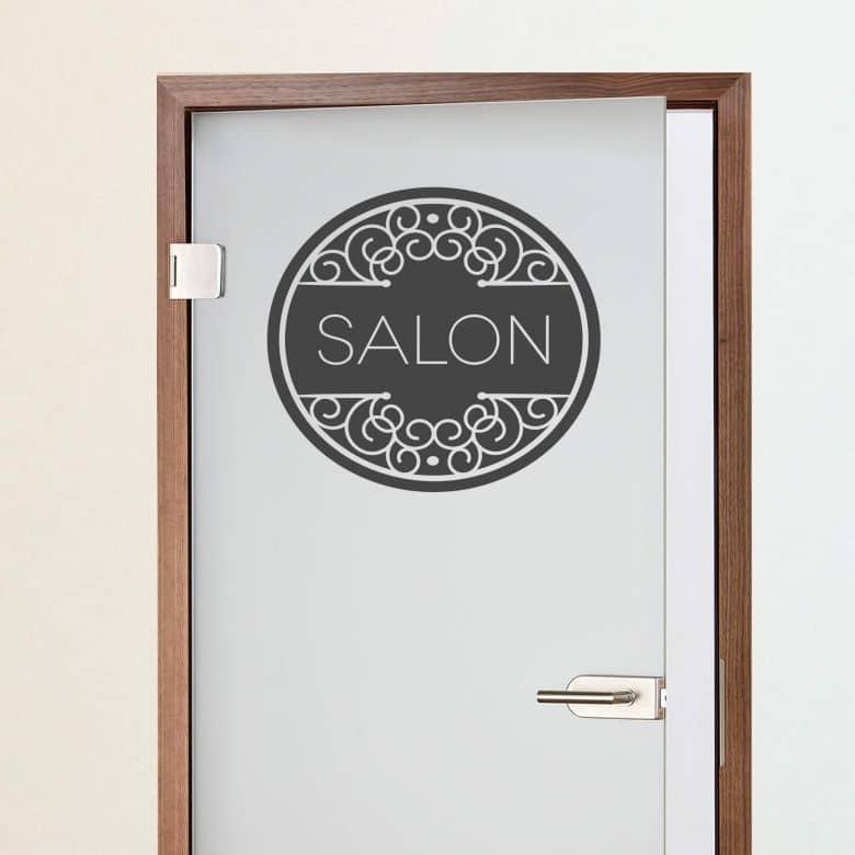 Wandtattoo Salon