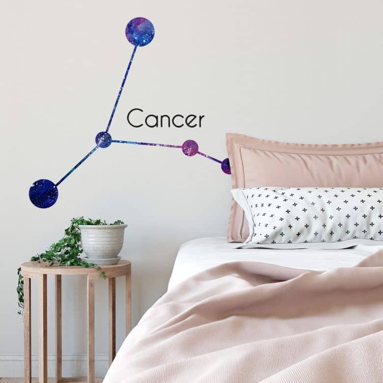 Wandtattoo Sternbild Cancer - Krebs