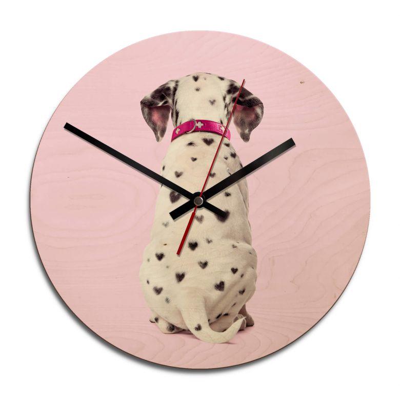 Horloge murale en bois - Fuentes - Dalmatien