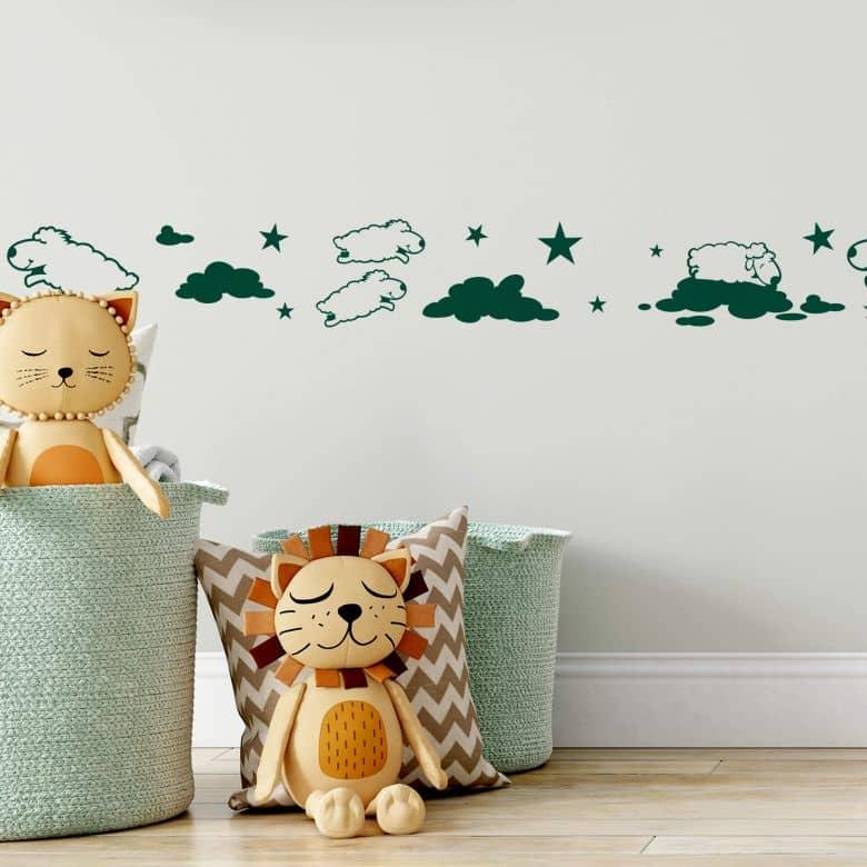 Sticker mural - Bordure Mouton 1