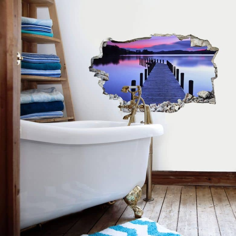 3D wall sticker At the lake