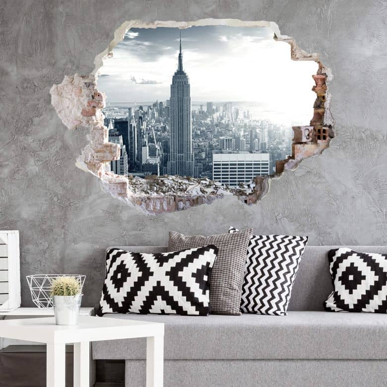 3D wall sticker Empire State Building