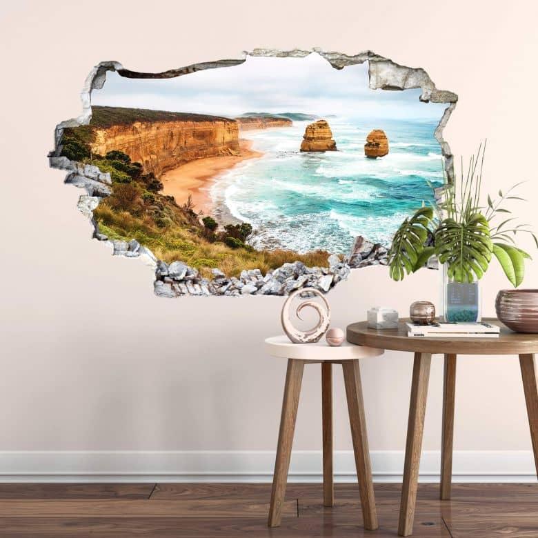 3D Wandtattoo Cliff Rocks