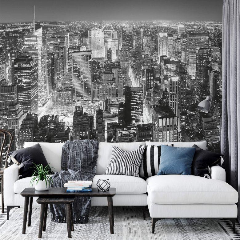 Fototapete Papiertapete Midtown New York - 366x254 cm