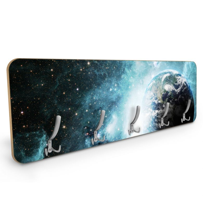 Wandgarderobe In einer fernen Galaxie - Horizontal