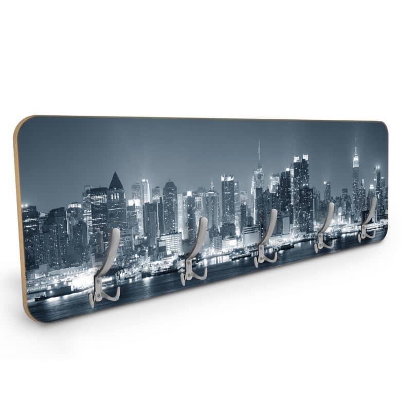 Design Garderobe New York at Night 01 - Horizontal