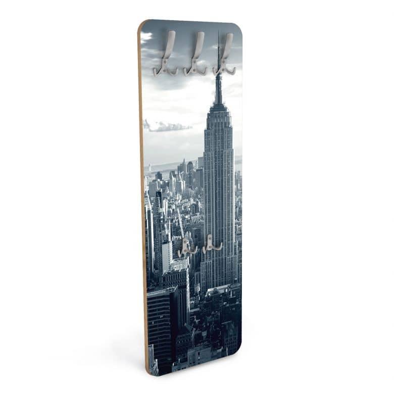 Wandgarderobe The Empire State Building - Vertikal