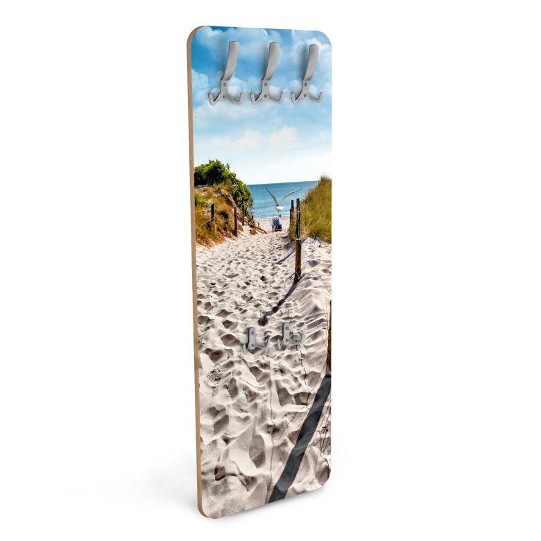 Wandgarderobe Way to the Beach - Vertikal