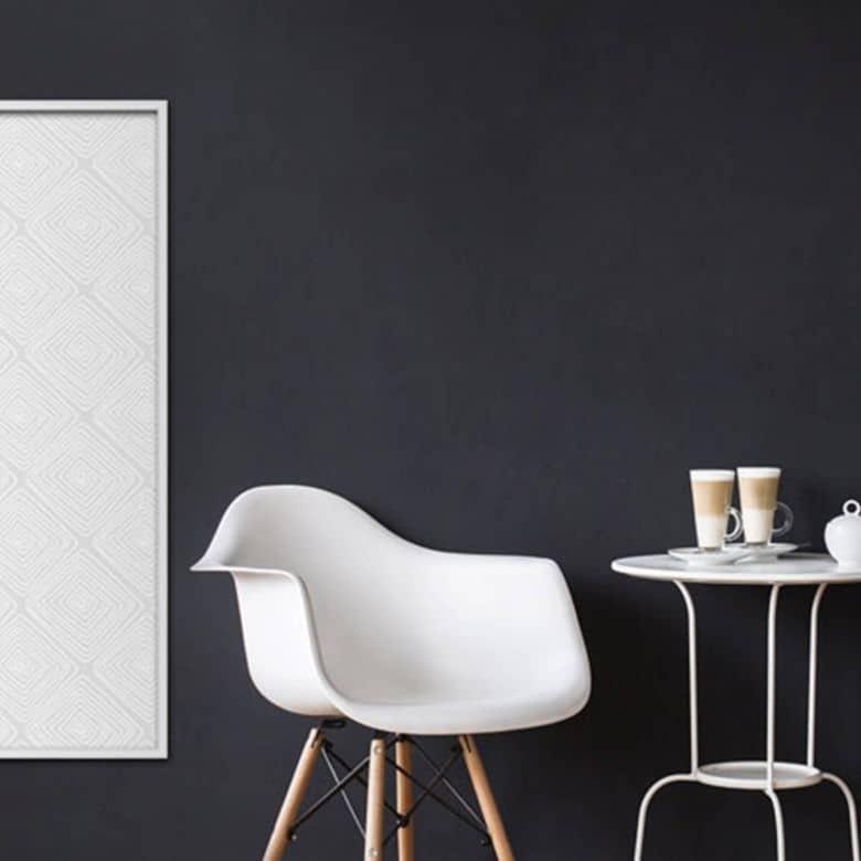 Wandsticker Modern Grey mit Zierleisten-Rahmen | wall-art.de