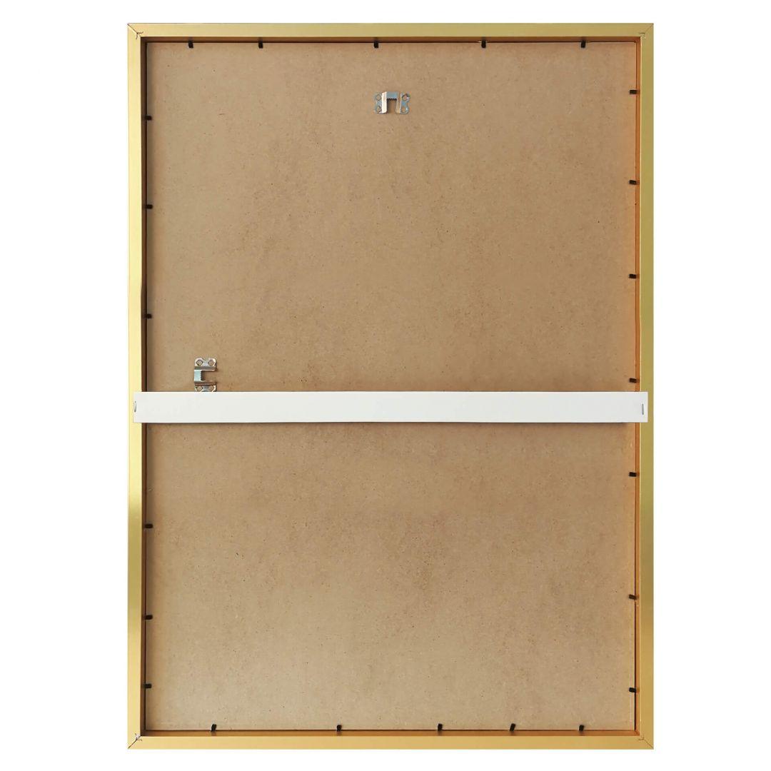 goldener bilderrahmen aus holz wall. Black Bedroom Furniture Sets. Home Design Ideas