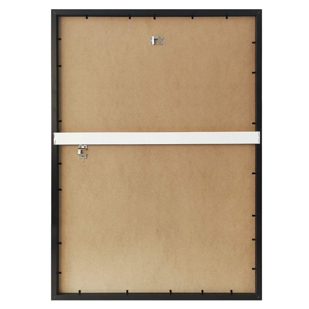 schwarzer bilderrahmen aus holz wall. Black Bedroom Furniture Sets. Home Design Ideas