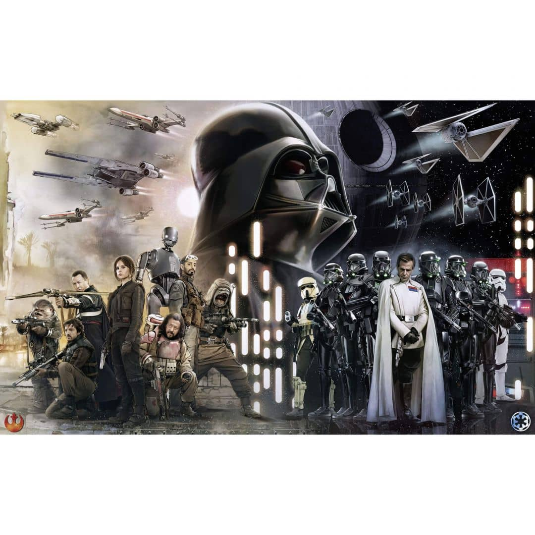 komar fototapete star wars collage 028 dvd4 wall. Black Bedroom Furniture Sets. Home Design Ideas