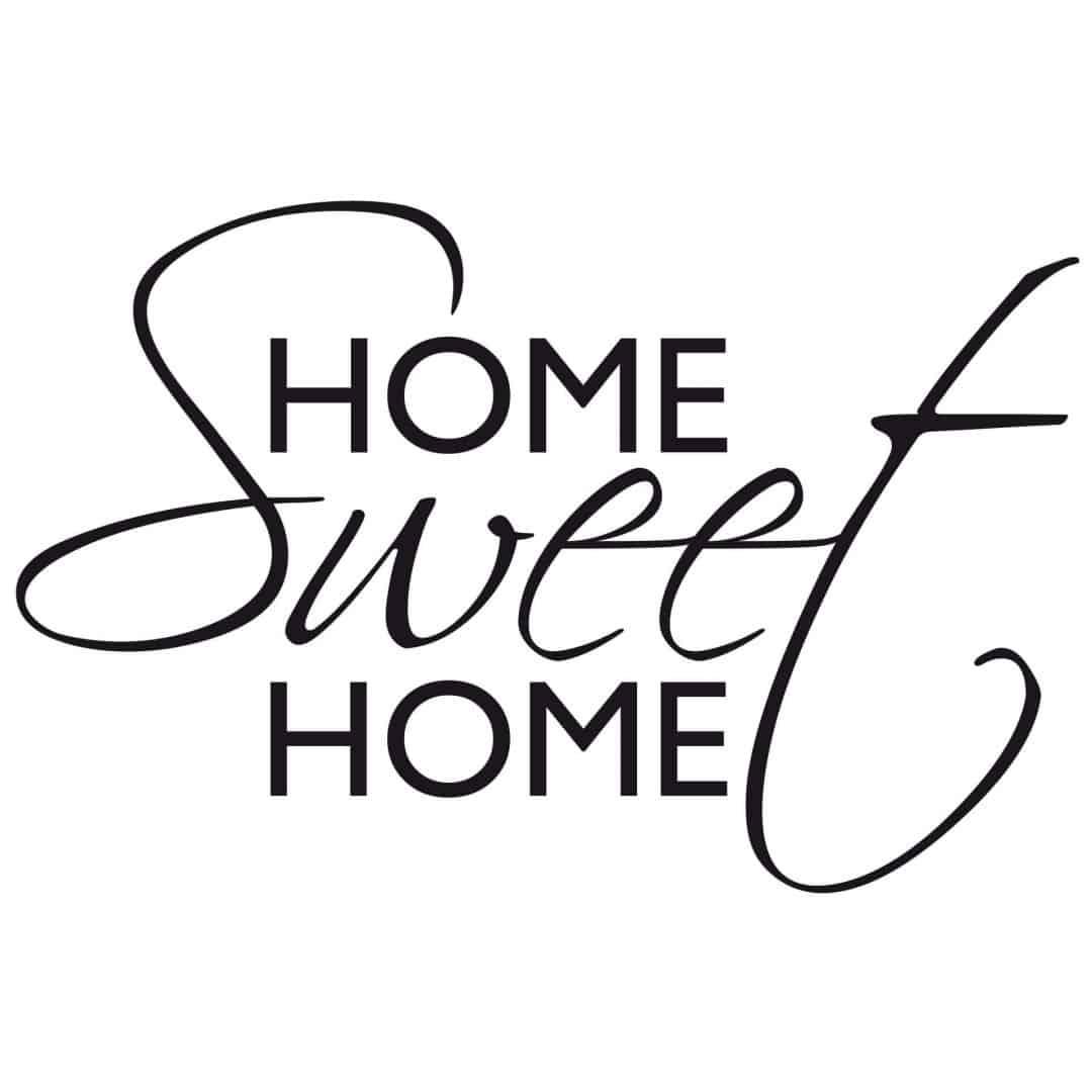 Einzigartig Wandtattoo Home Sweet Home Sammlung Von