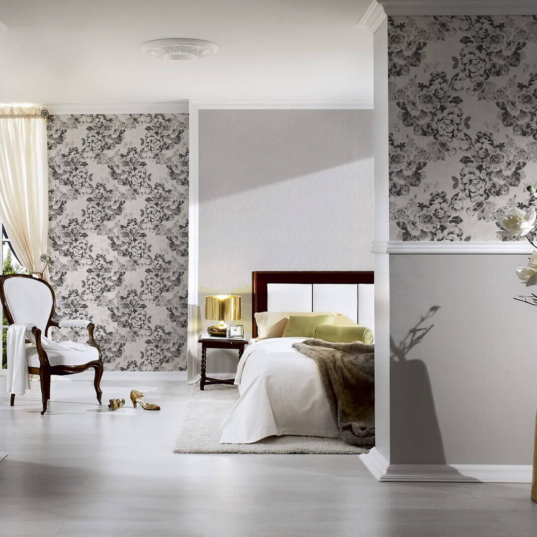 papier peint structure profil e a s cr ation ok 5 gris. Black Bedroom Furniture Sets. Home Design Ideas