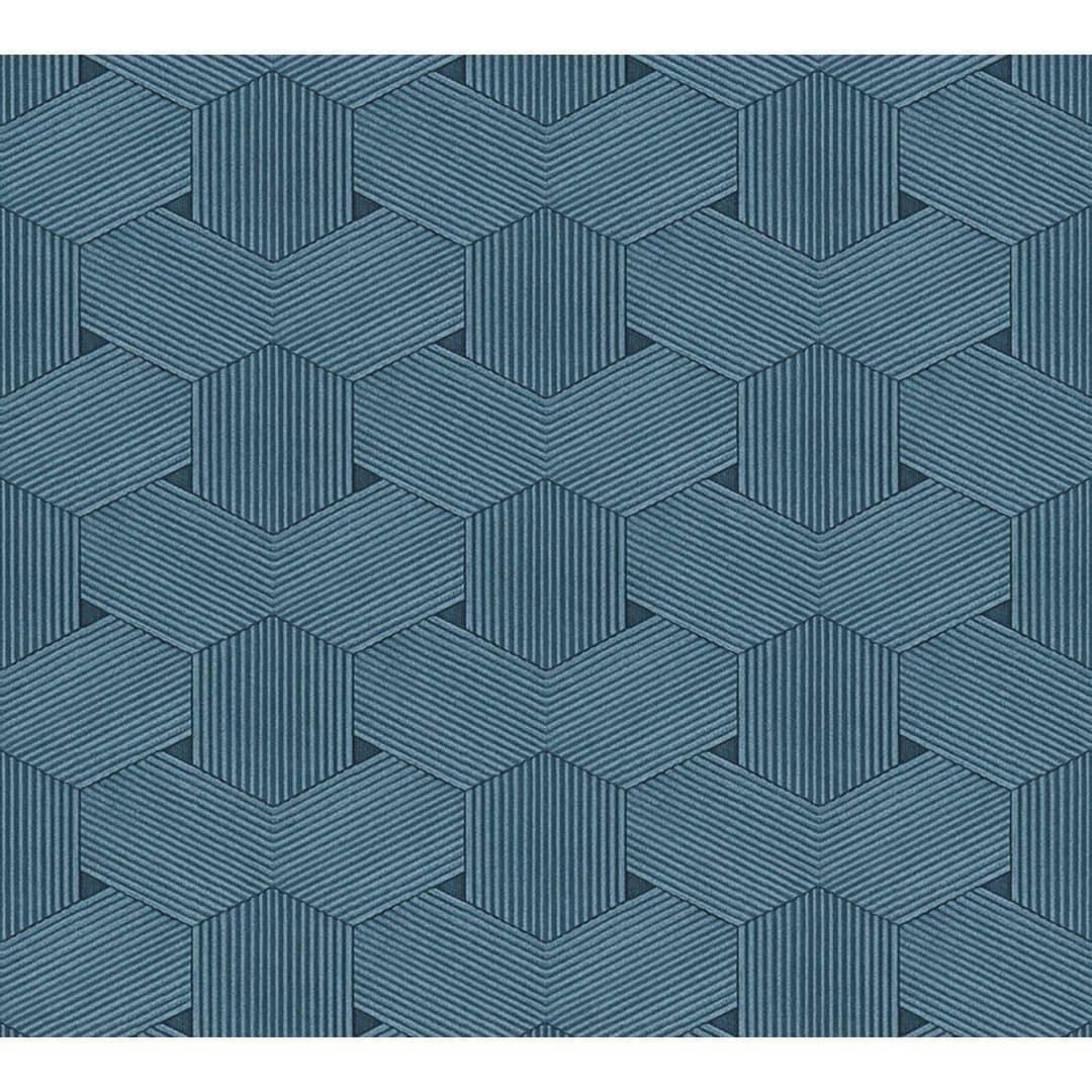 24 Wandfarbe Metallic Blau