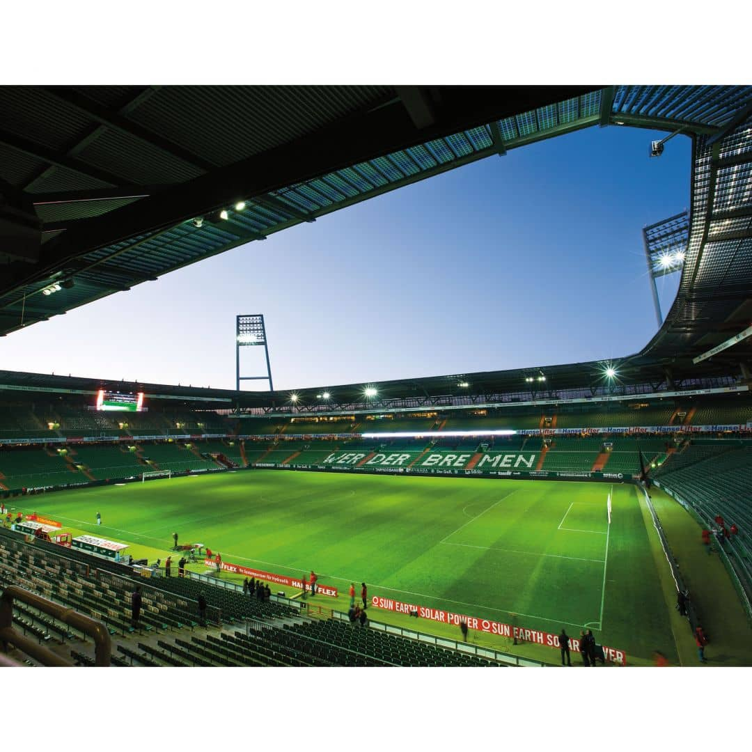 fototapete werder bremen weserstadion innen von k l wall. Black Bedroom Furniture Sets. Home Design Ideas