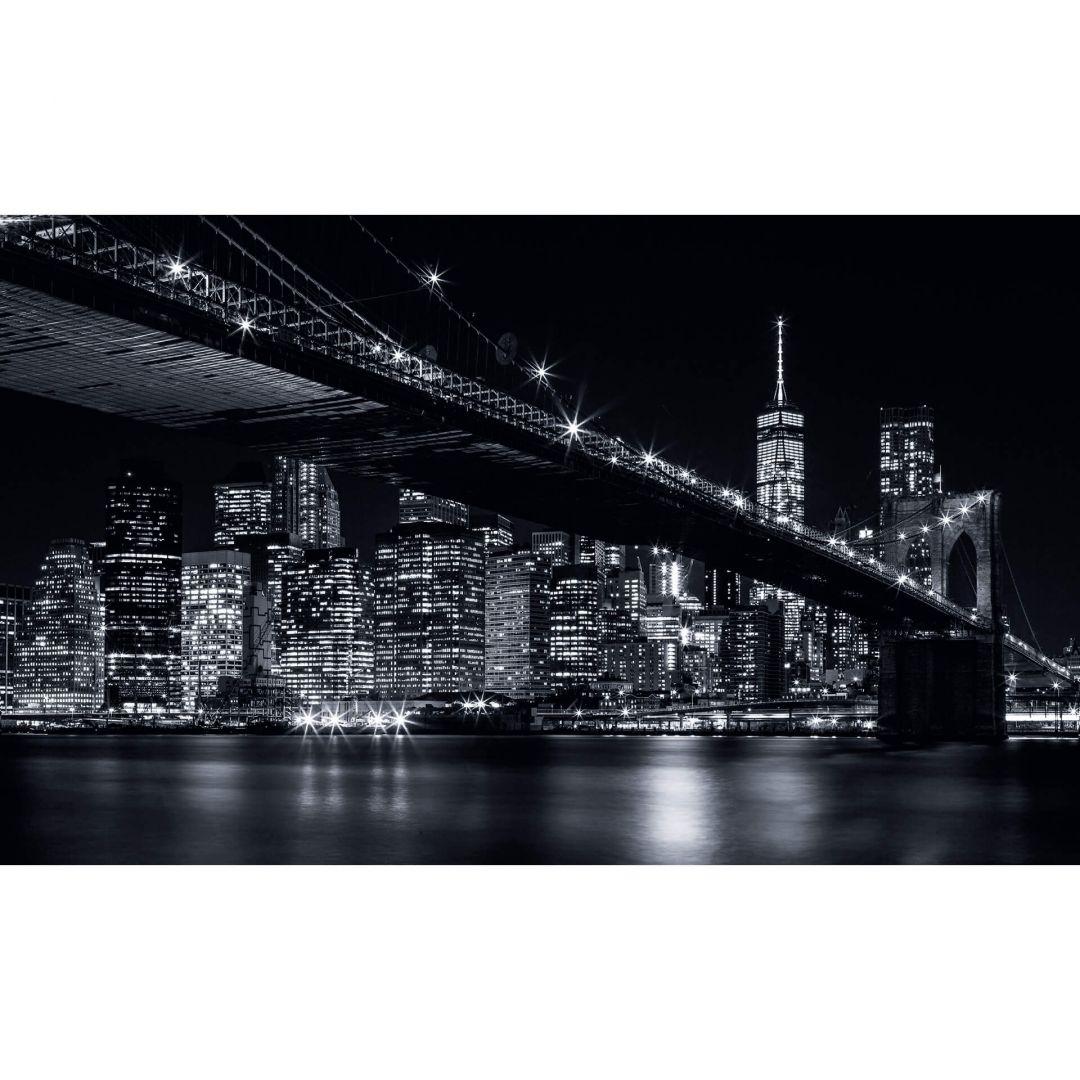fototapete new york bei nacht wall