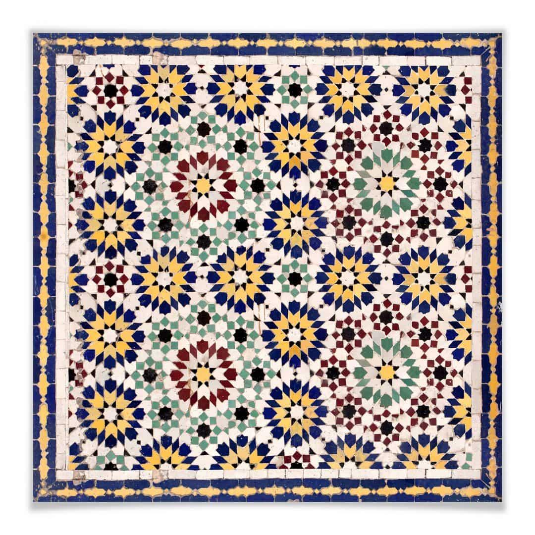 Sticker meuble mosa que d 39 orient 01 for Meuble mosaique
