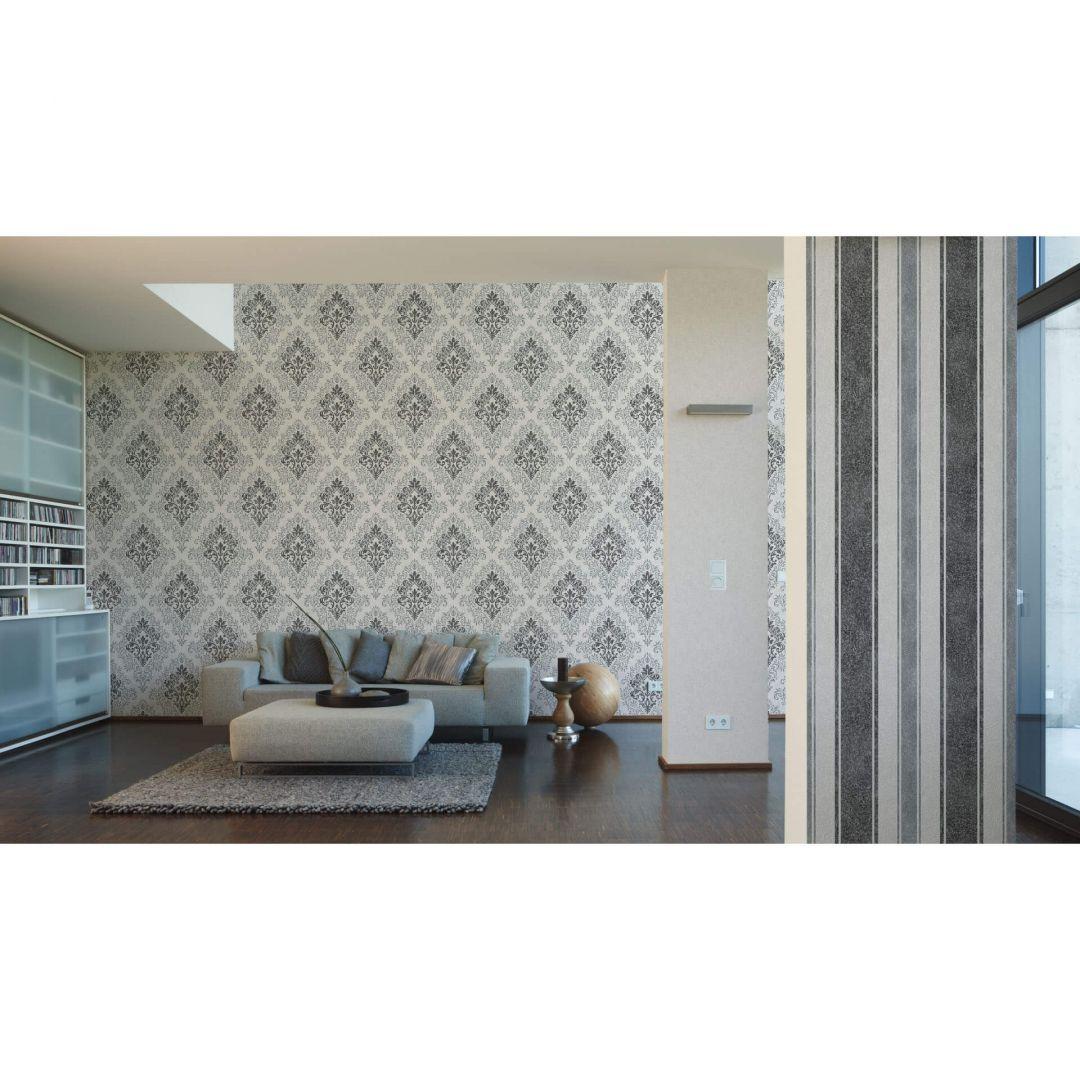 livingwalls vliestapete jette 4 creme metallic 339231 wall. Black Bedroom Furniture Sets. Home Design Ideas