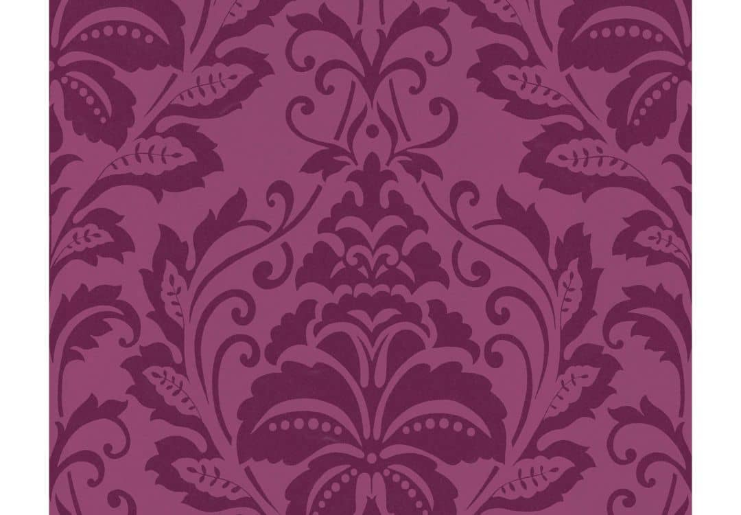 papier peint intiss livingwalls flock 4 violet pastel. Black Bedroom Furniture Sets. Home Design Ideas