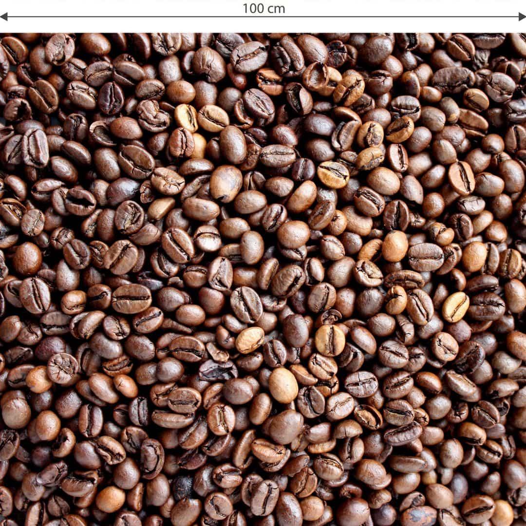 Sticker meuble film d coratif adh sif lavable grains de caf 100x100 cm wall - Stickers deco meuble ...