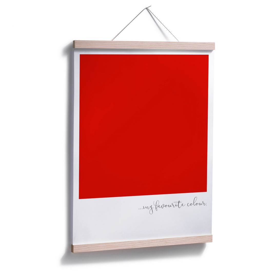 My favourite colour red essay