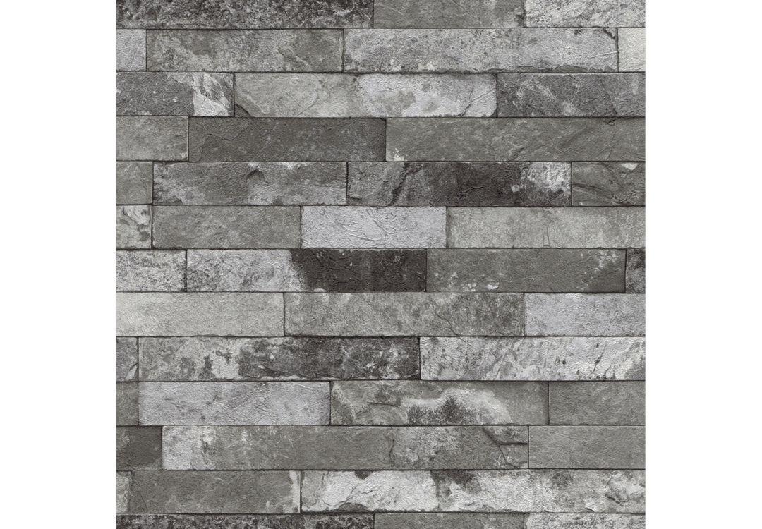rasch vliestapete factory ii mauer 475135 grau wall. Black Bedroom Furniture Sets. Home Design Ideas