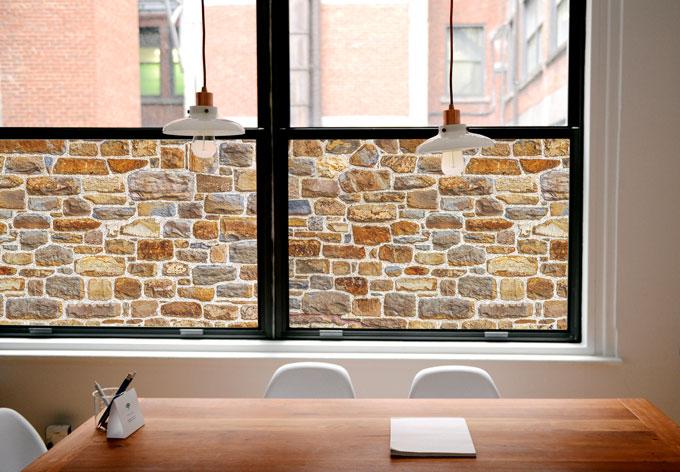 Pellicola adesiva per vetri muro di pietre arizona for Piastrelle 200x100