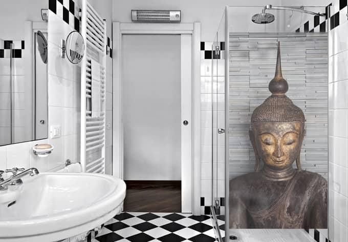 Pellicola adesiva per vetri buddha tailandese for Finestra 50x100