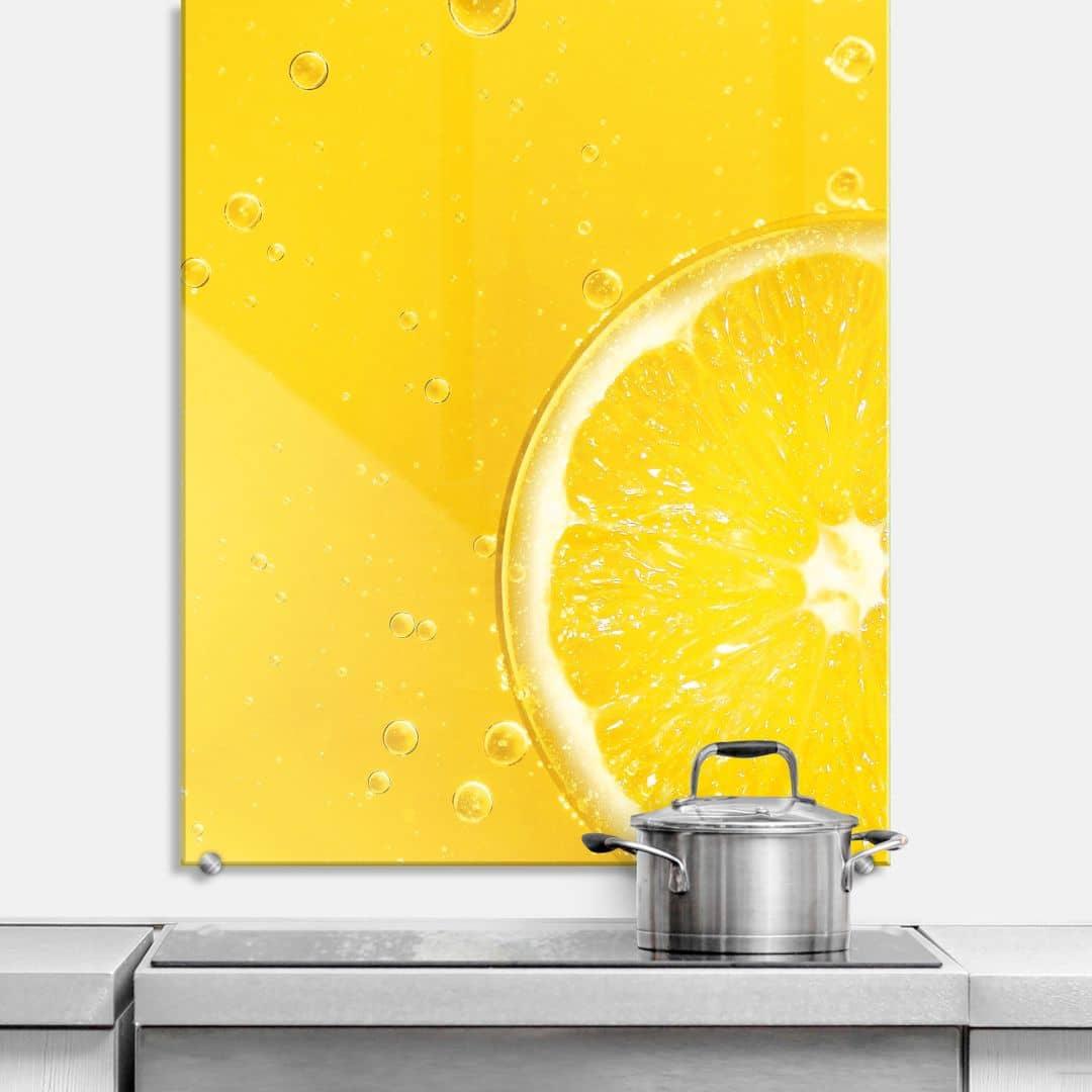 spritzschutz lemon squeezy wall. Black Bedroom Furniture Sets. Home Design Ideas