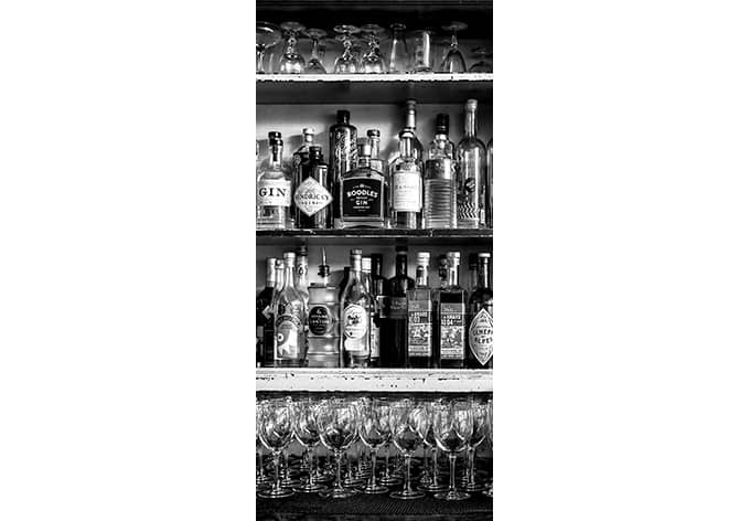 Adesivi per porte klein the classic bar - Pellicole adesive per porte ...