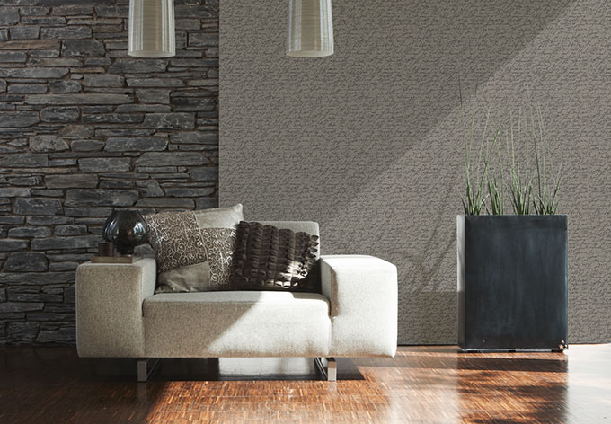 sch ner wohnen vliestapete bohemian rapsody braun grau metallic wall. Black Bedroom Furniture Sets. Home Design Ideas