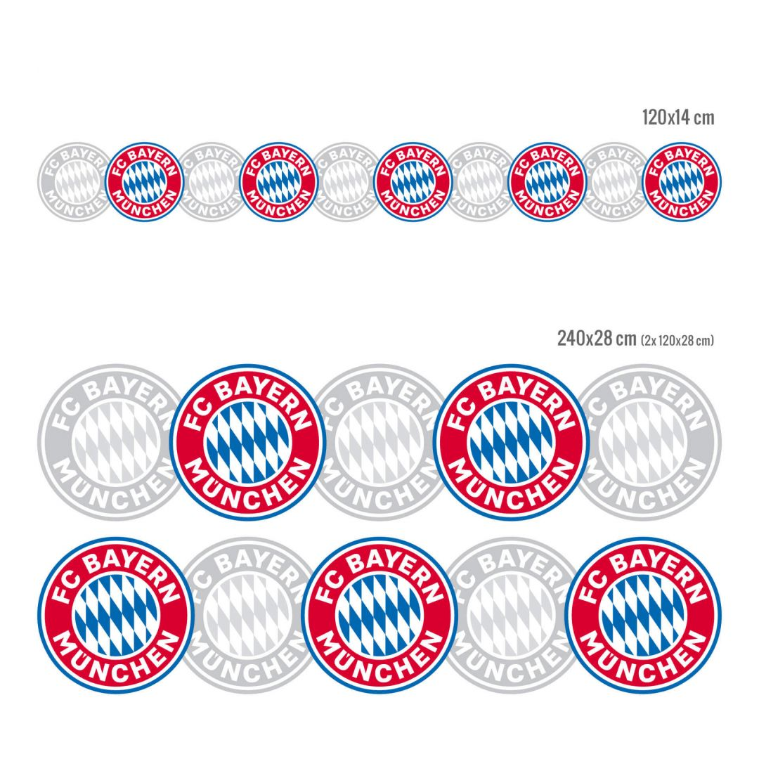 fc bayern bord re bayern m nchen wandtattoos wall. Black Bedroom Furniture Sets. Home Design Ideas