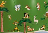 Wandtattoo MegaPack Crazy Jungle